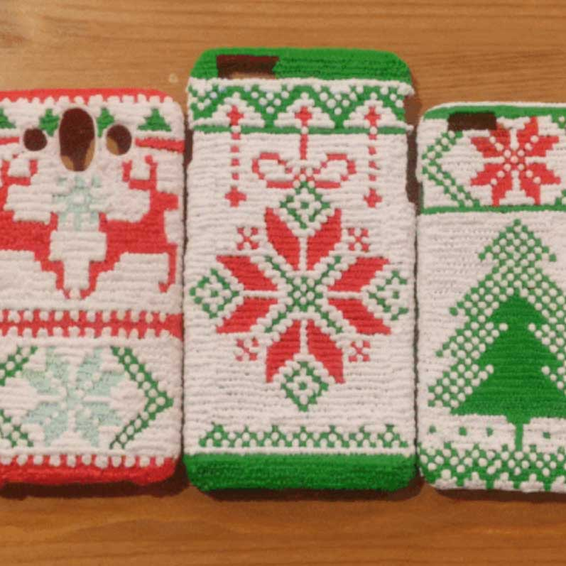 Cozy Holiday Phone Cases