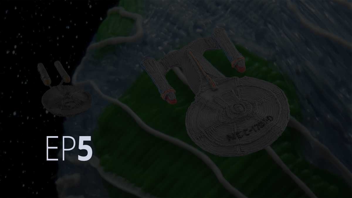 "Episode 5: Star Trek ""Crew Edition"" 3Doodler Create on Kickstarter"
