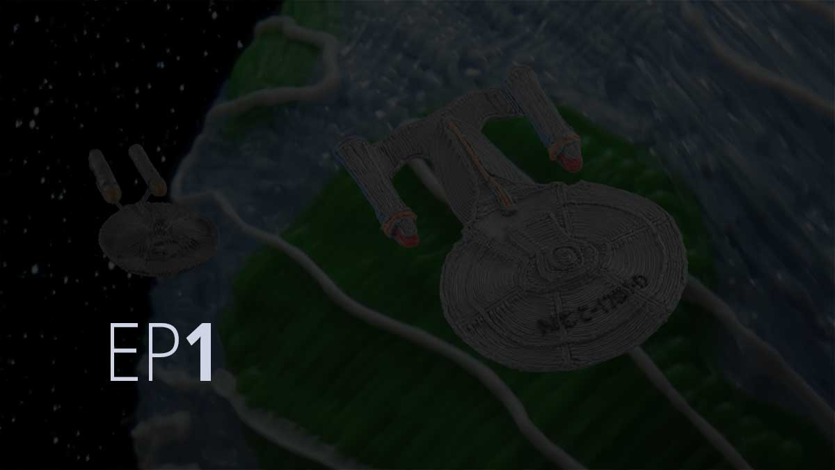 "Episode 1: Star Trek ""Crew Edition"" 3Doodler Create on Kickstarter"