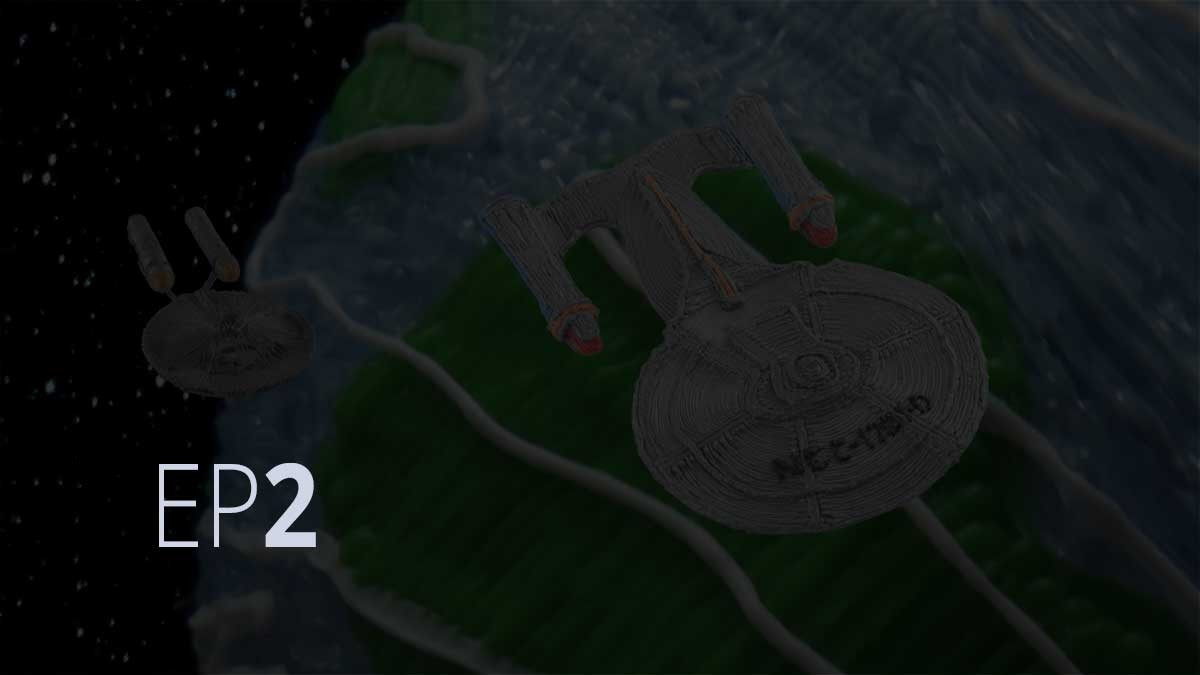 "Episode 2: Star Trek ""Crew Edition"" 3Doodler Create on Kickstarter"