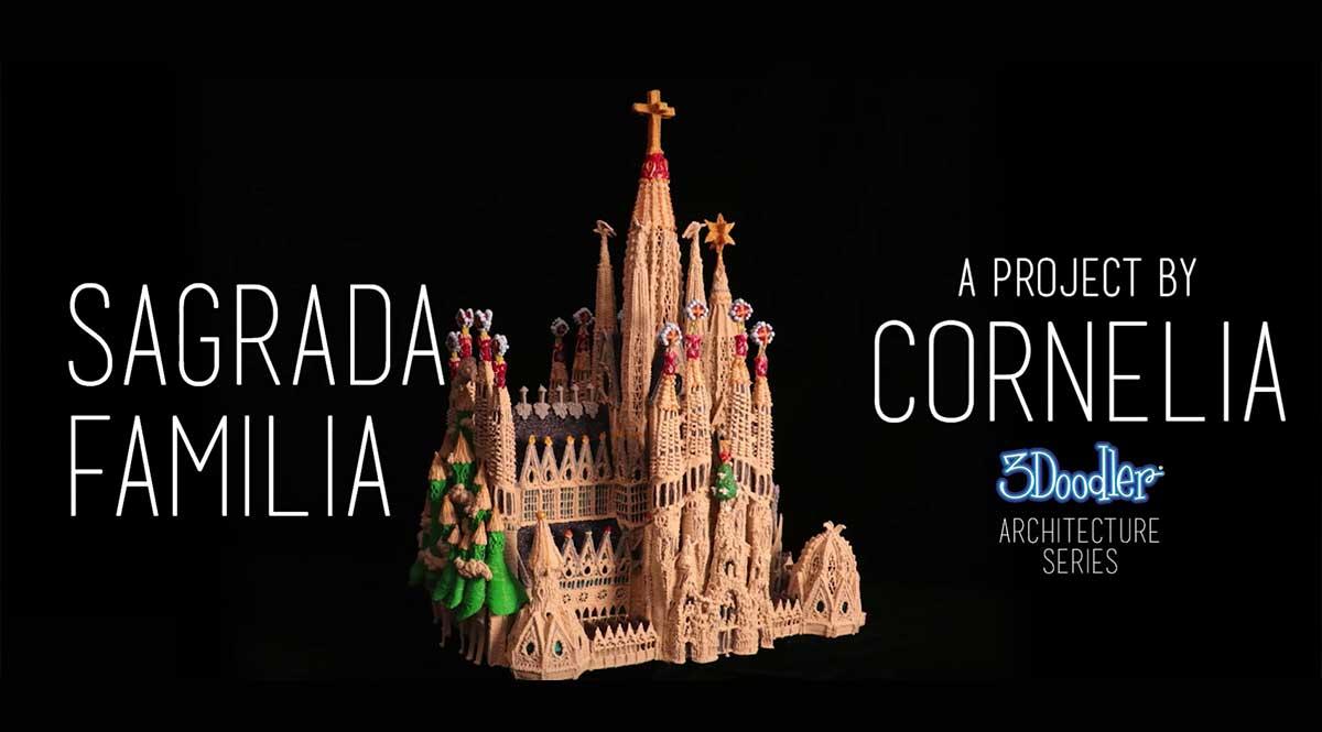 Cornelia Kuglmeier and her Sagrada Familia