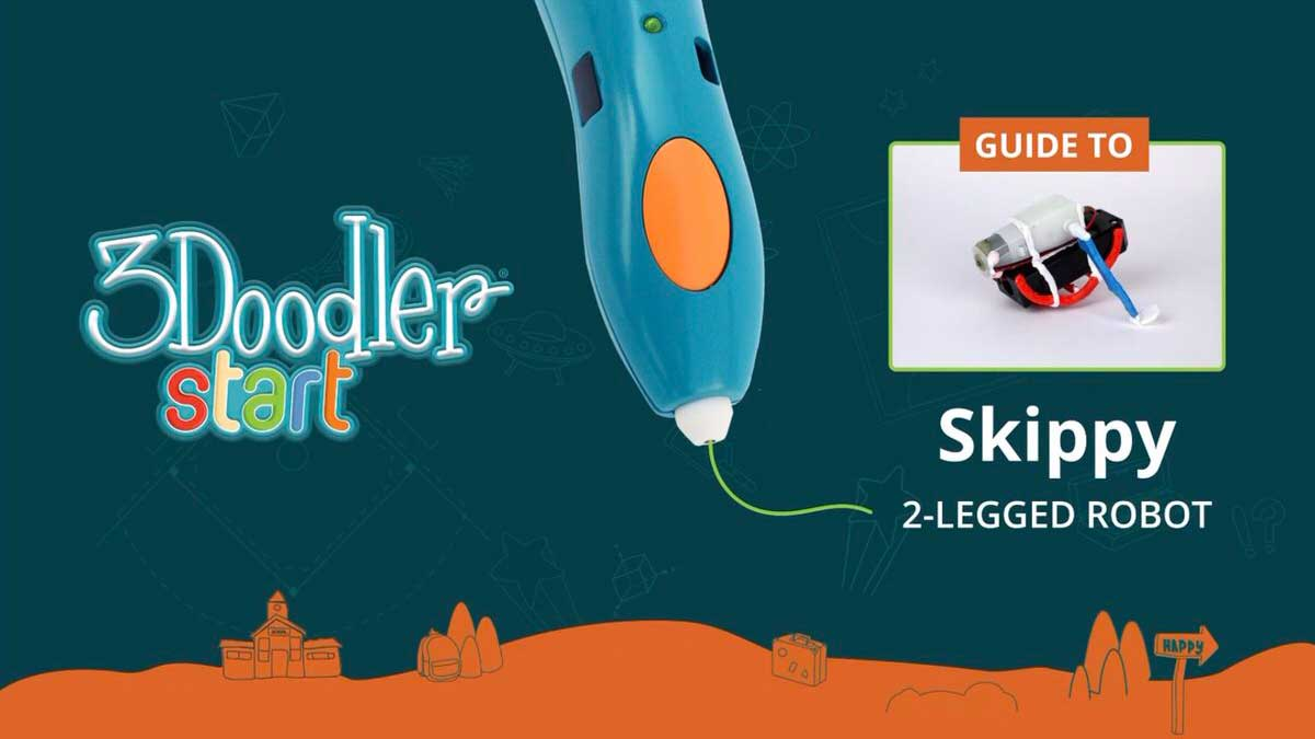 Skippy 2-Legged Robot