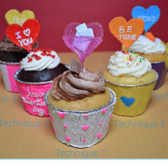Valentine's Day Cupcake Liner