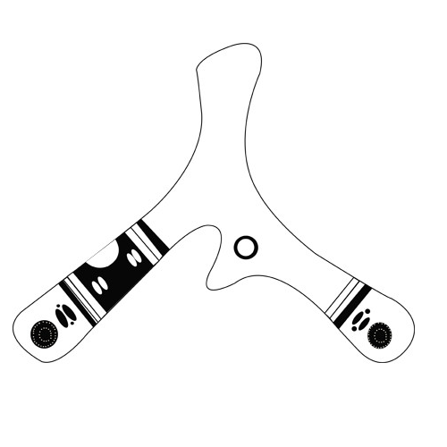 Tri-Bladed Boomerang