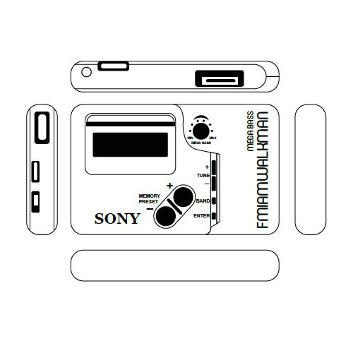 Sony Walkman SRF M45
