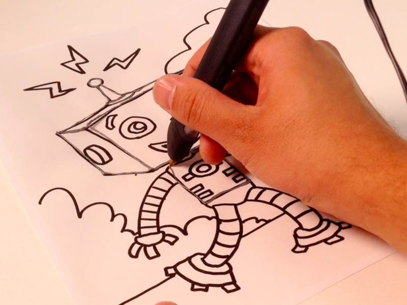 Coloring Books as Stencils