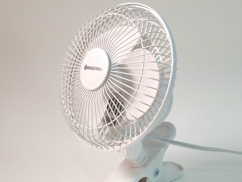 Speed Cooling With a Fan