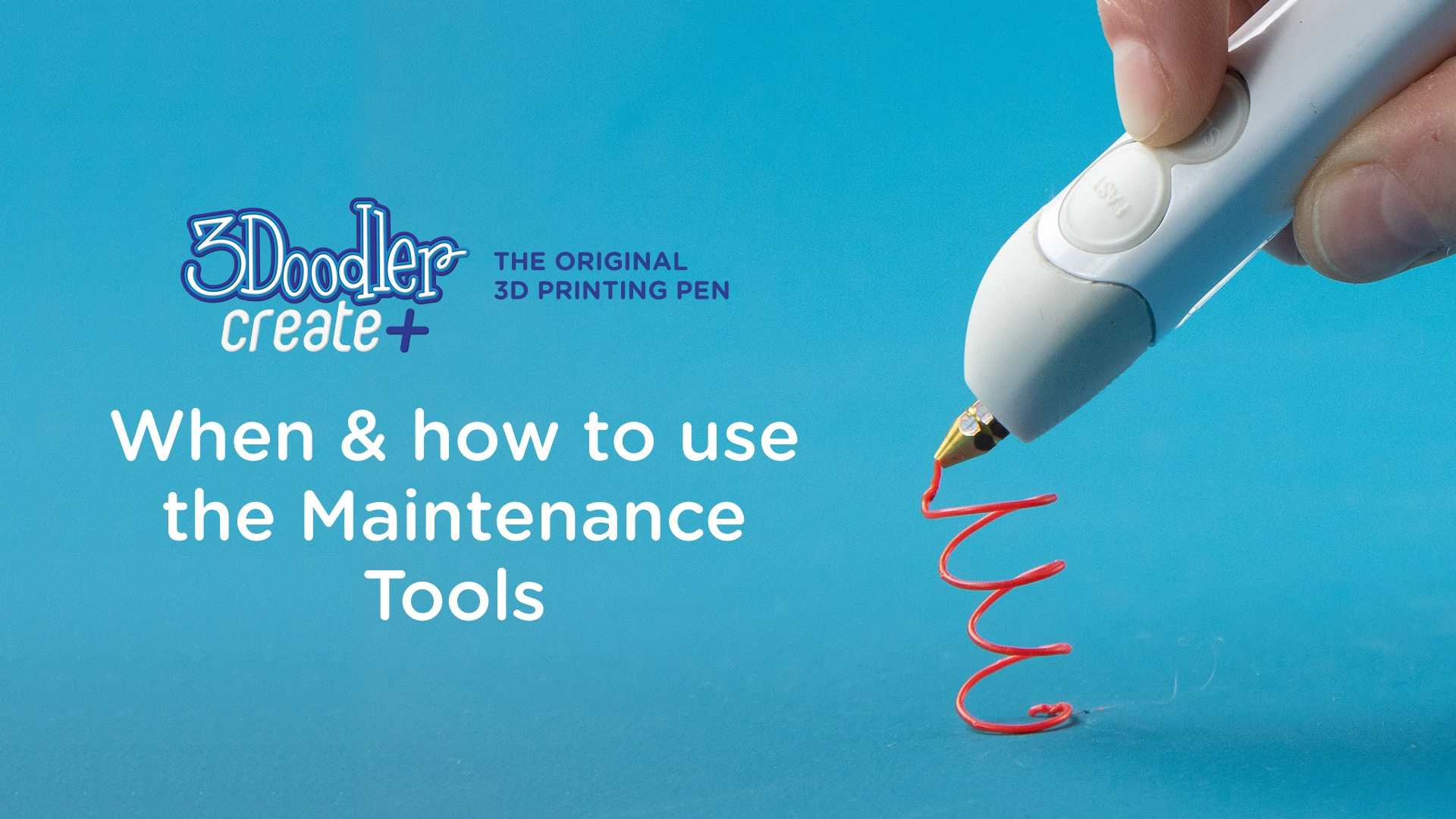 When & How to Use the Maintenance Tools