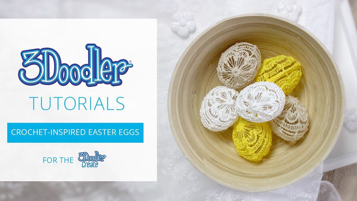 Crochet-Inspired Easter Eggs Tutorial