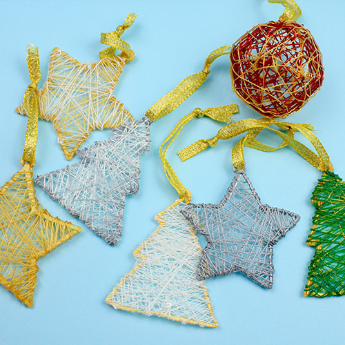 Simple Holidays Ornaments