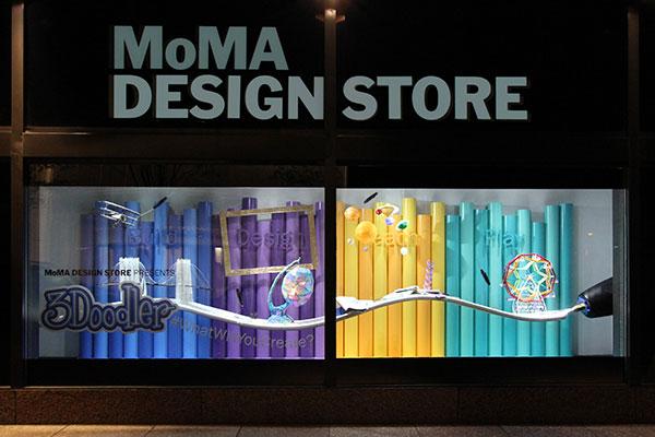 3Doodler MoMA Window Display