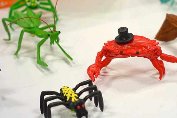 3Doodler at New York Toy Fair