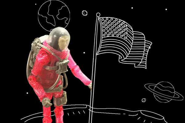 Doodling to the Moon and Back: Honoring 50 Years Since Apollo 11