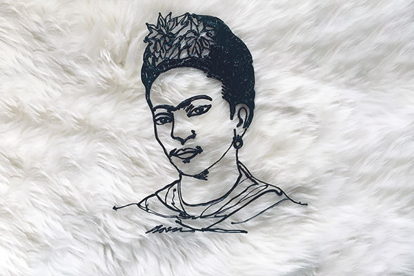 Notable Doodlers: Painting Reality with Frida Kahlo