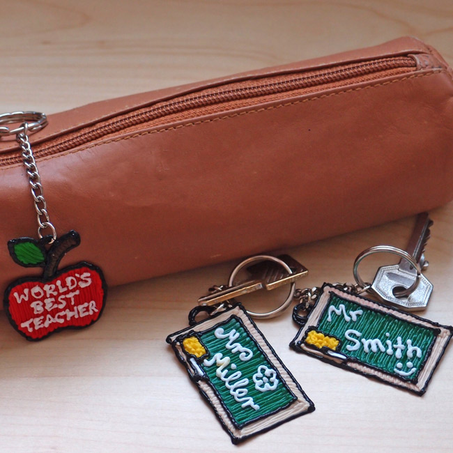 3Doodler Custom Keychain