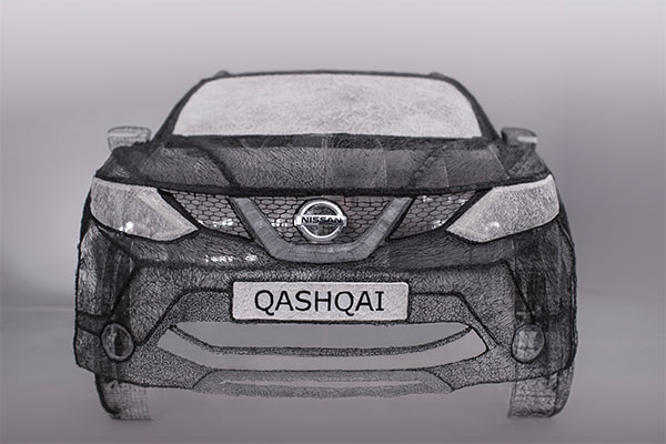 A Qashqai Creation with Grace Du Prez