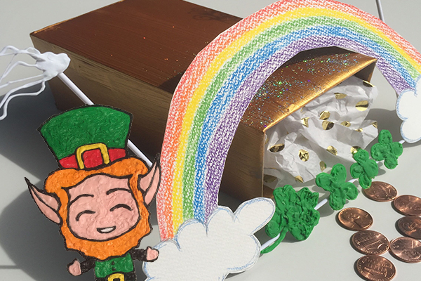 St. Paddy's Day Doodles for your K-8 Classroom!