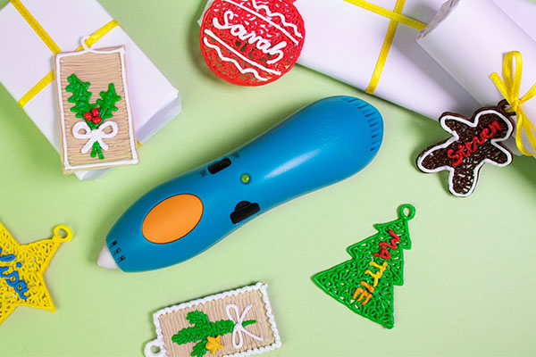 Festive 3D Pen Crafts for Kids