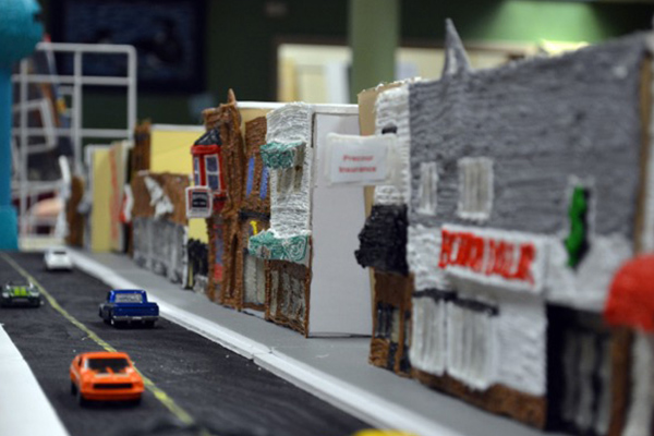 A Model Town from a Model Classroom