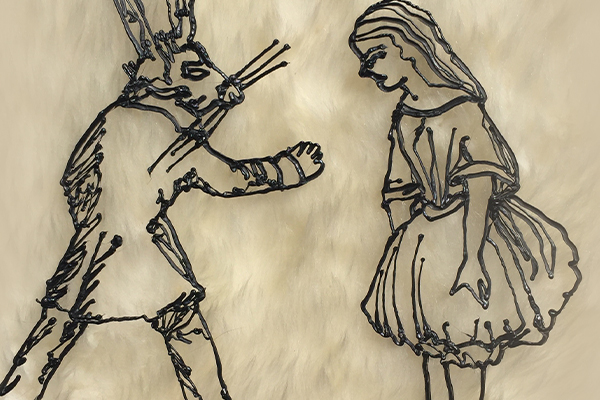Notable Doodlers: Doodling Wonderland with Lewis Carroll