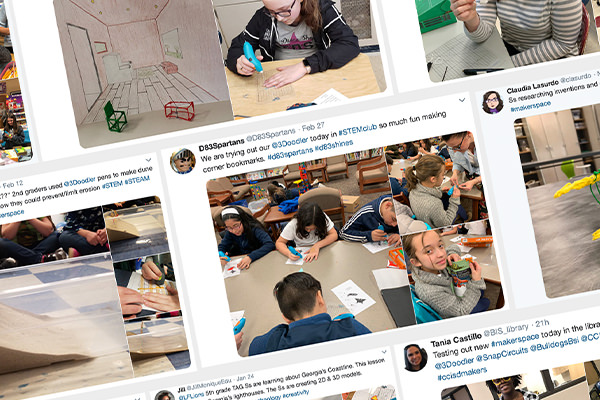 Favorite STEM Tweets of the 2018-19 School Year