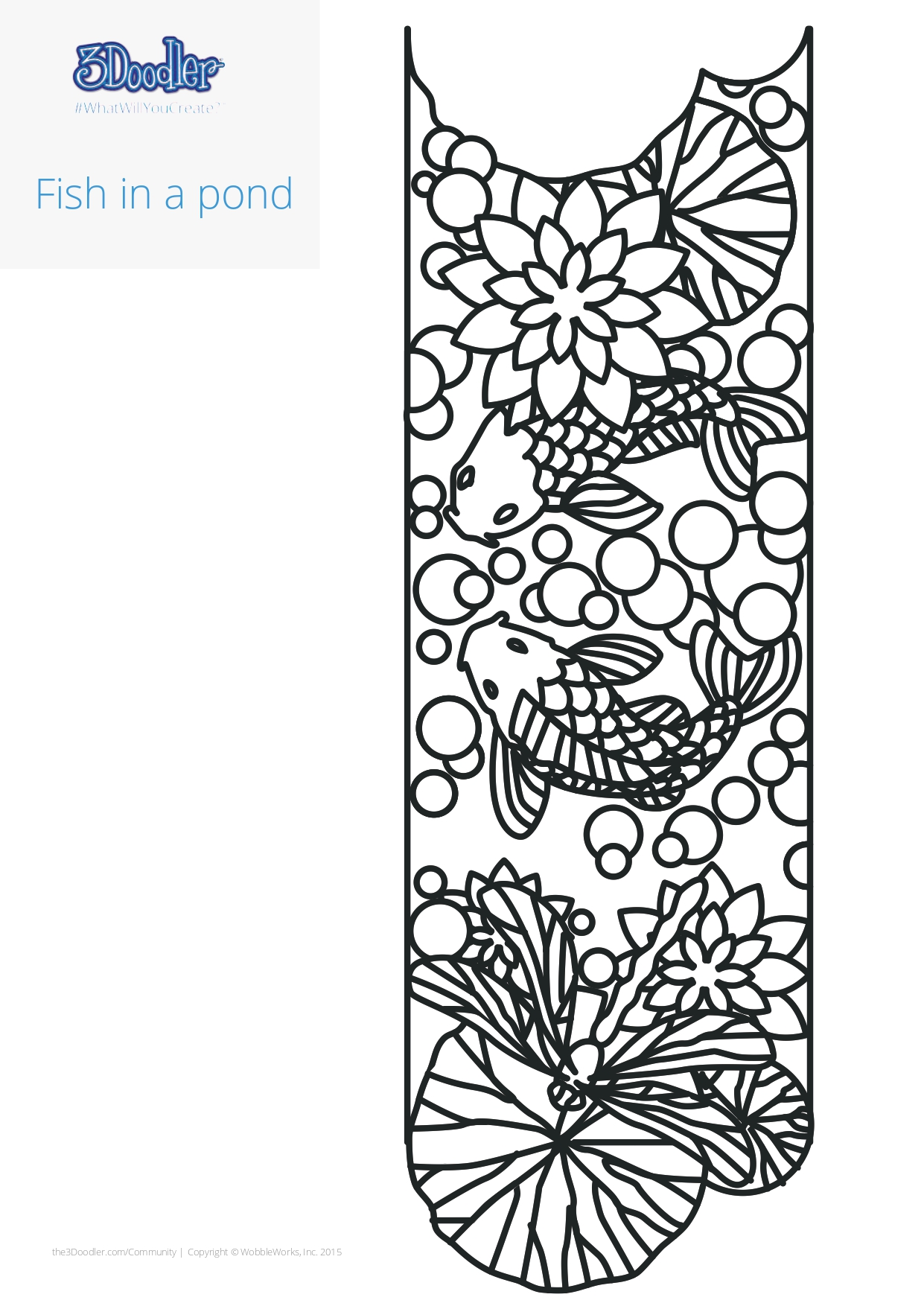 3D Pen Stencil Template Tiffany Candle Holders