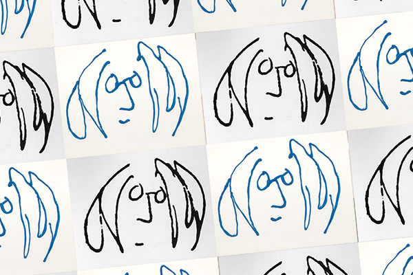 Notable Doodlers: Come Together for John Lennon's Birthday