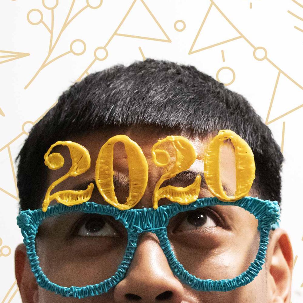 3D Pen Stencil Template 2020 Glasses Stencil