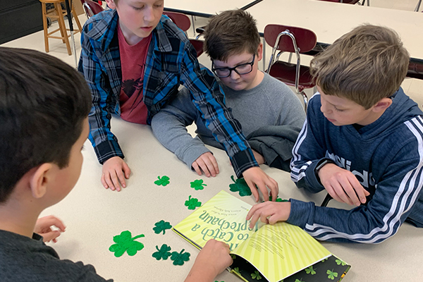St. Patrick's Day Lesson and Memory Game
